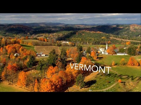 Vermont from Above (High Definition - HD)