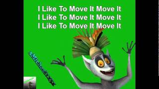 Madagascar King Julien - Move It - With Lyrics ( Songtext )
