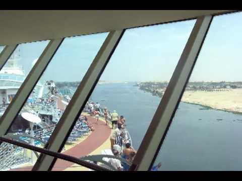 Dubai and Suez Canal to Barcelona, Spain
