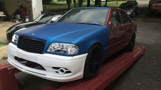 Gambar cover Mercedes Benz C280 W202 Restoration Project - Restyling Build
