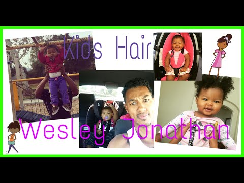 Wesley Jonathan on his Curly Daughters Hair  Lalas Choice