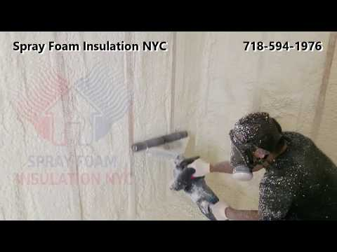Spray Foam Insulation Contractors Servicing New York - New Jersey