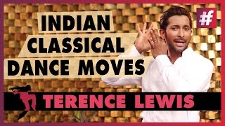 Terence Lewis - Guide to Basic Indian Classical Dance - #fame