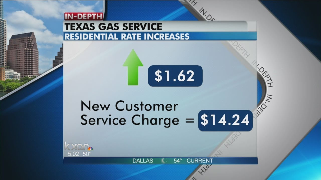 Texas Gas Service Rate Hike Youtube