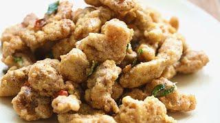 Salted Egg Yolk Chicken - 牛油黃金鸡