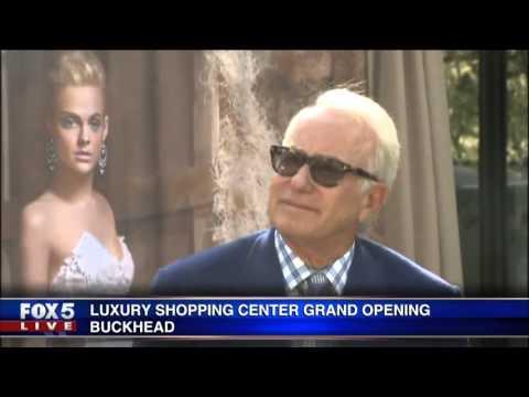 Grand opening of Buckhead Atlanta: luxury shopping district