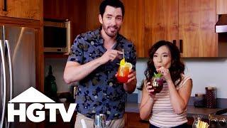 Drew and Linda's Wedding Mocktails - HGTV