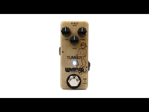 Wampler Tumnus Overdrive Pedal Review by Sweetwater