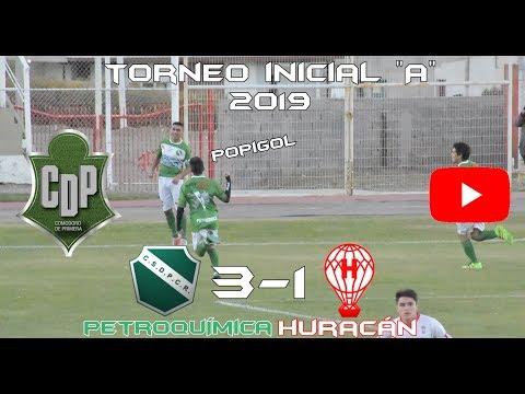 """PETROQUÍMICA 3 - HURACÁN 1 / Inicial """"A"""" 2019"""