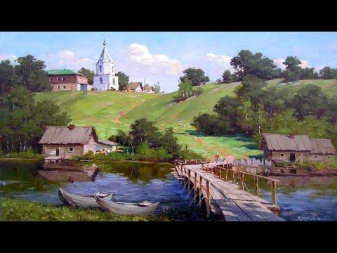 Великолепные деревенские пейзажи художника Сергея Крупского