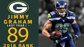 #89: Jimmy Graham (TE, Packers) | Top 100 Players of 2018 | NFL