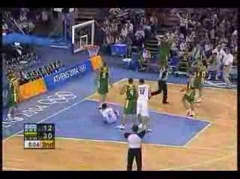 Greek Team Basketball Olympics 2004
