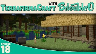 Minecraft Terrafirmacraft :: Cabin by the Lake :: E18