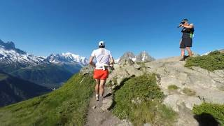 KILIAN JORNET DOWNHILL: Mont Blanc Marathon 2018