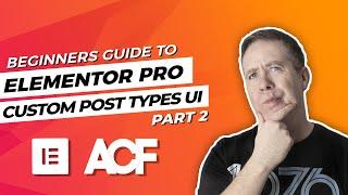 How To Display Custom Post Type In Elementor | CPT UI & Ele Custom Skin