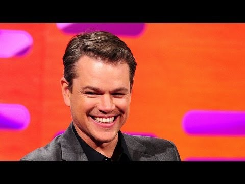 Download Youtube: Matt Damon controls the red chair - The Graham Norton Show: Episode 16 - BBC One