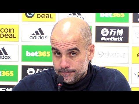 Wolves 3-2 Man City - Pep Guardiola FULL Post Match Press Conference - Premier League