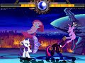 New Mugen Fighting Is Magic - Team Twilight Sparkle Alicorn vs Nightmare Sparkle