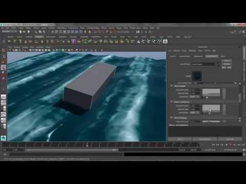 Maya Mondays - Ocean Shader