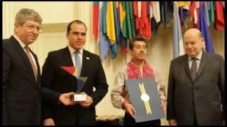 Marimba de Guatemala, Patrimonio Cultural de las Américas - Discurso de Ministro Dwight Pezzarossi