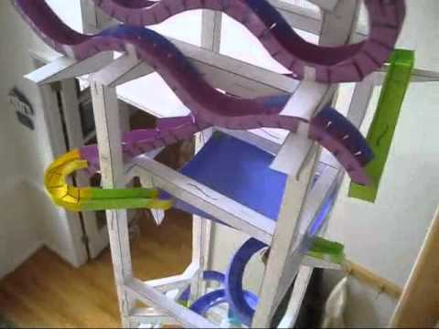 World S Greatest Paper Roller Coaster Youtube
