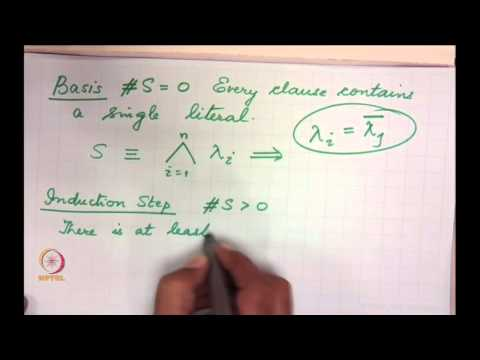 Mod-01 Lec-31 Resolution : Soundness and Completeness