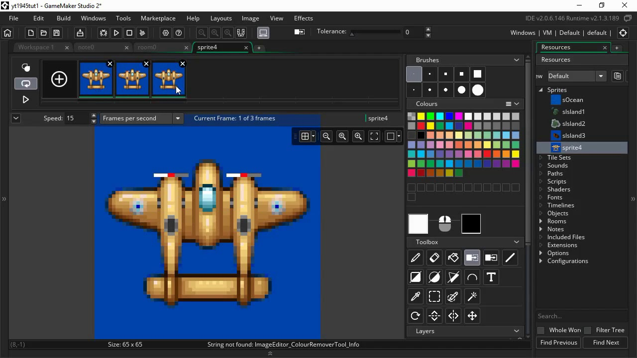 Scrolling Shooter Tutorial Using Drag And Drop Gamemaker Community