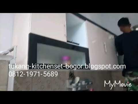 Tukang kitchen set bogor
