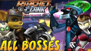 Ratchet and Clank 3: Up Your Arsenal - All Bosses (No Damage)