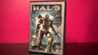 Halo Legends Anime DVD review