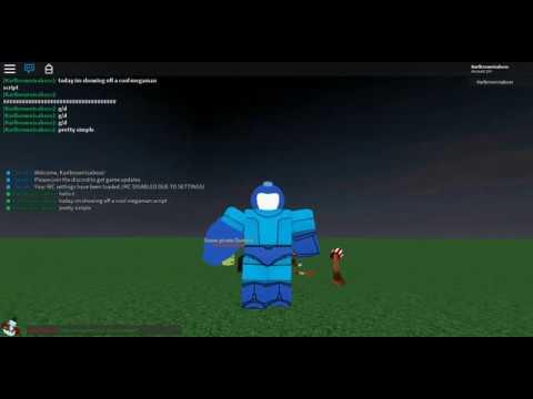 Roblox MegaMan Script