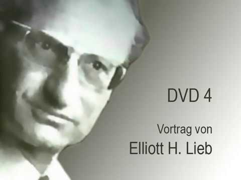 """Elliott Lieb: """"Remarks"""