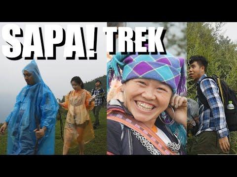 SAPA VIETNAM TRAVEL - Intense 6 Hour Trek into the DEEP. Vlog #51