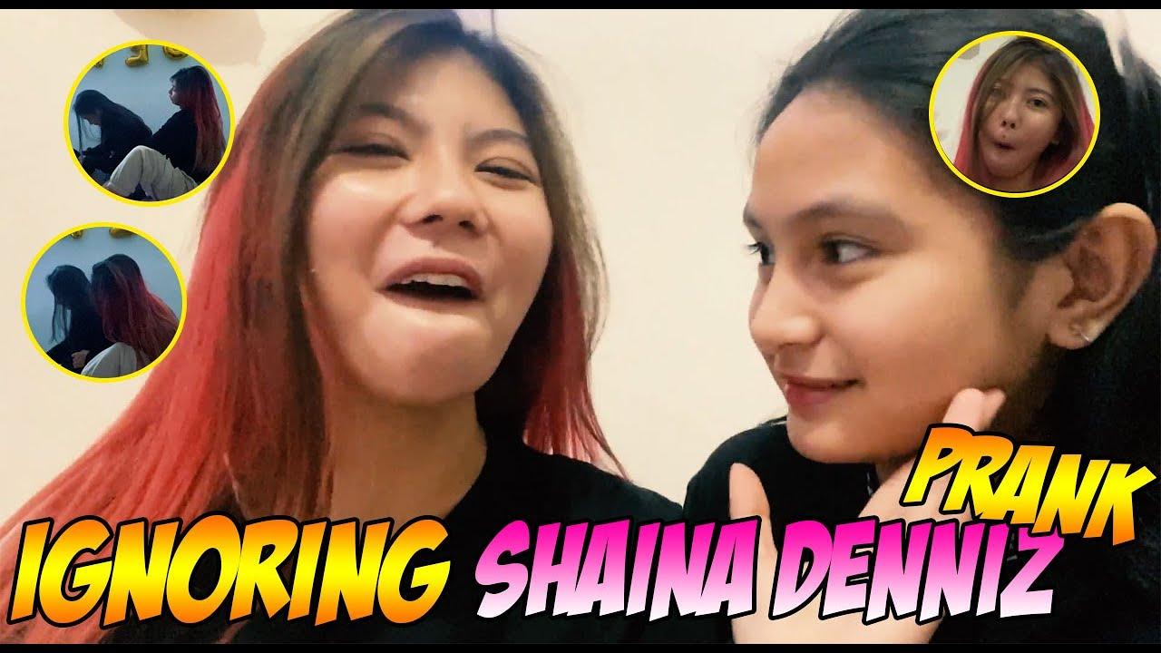 IGNORING SHAINA DENNIZ PRANK ( SOBRANG SWEET MANUYO ) | PRINCESS THEA