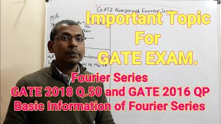 Fourier series in hindi | fourier series problem | GATE 2018 Q.50 fourier series | GATE 2016
