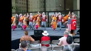 tuana turkish folk dance group at the chicago turkish festival 9 12 2012