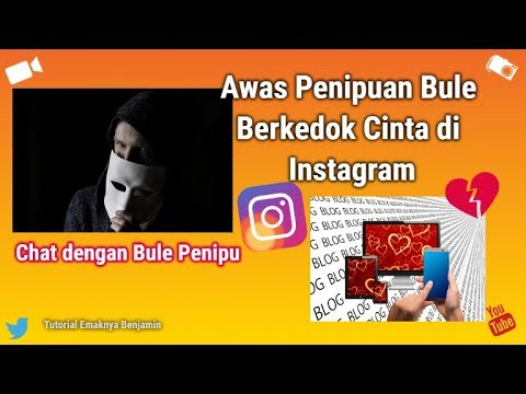 Awas Penipuan Bule Berkedok Cinta Di Instagram Youtube