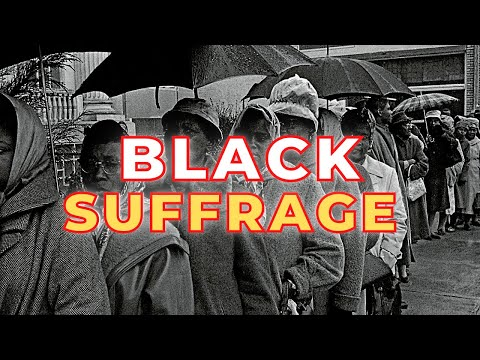 The History of Black Women's Voting Rights | Woman's Suffrage vs Black Suffrage #onemichistory