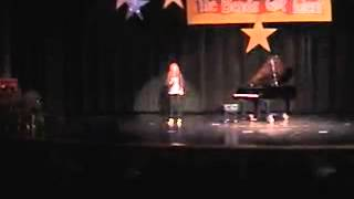 "Cherokee Bend Elementary- ""The Bends Got Talent""- Carly singing ""Landslide"""
