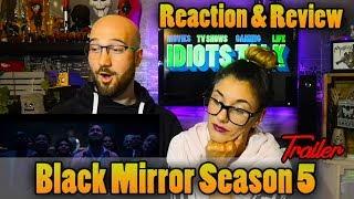 Black Mirror Season 5 Trailer - Reaction & Review