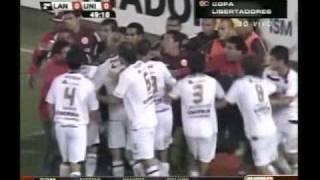Lanus vs Universitario COPA LIBERTADORES ESPN 15/04/10