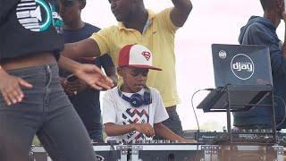 Cover images DJ Arch Jnr Closing Down Mafikeng Kids Festival With Amapiano