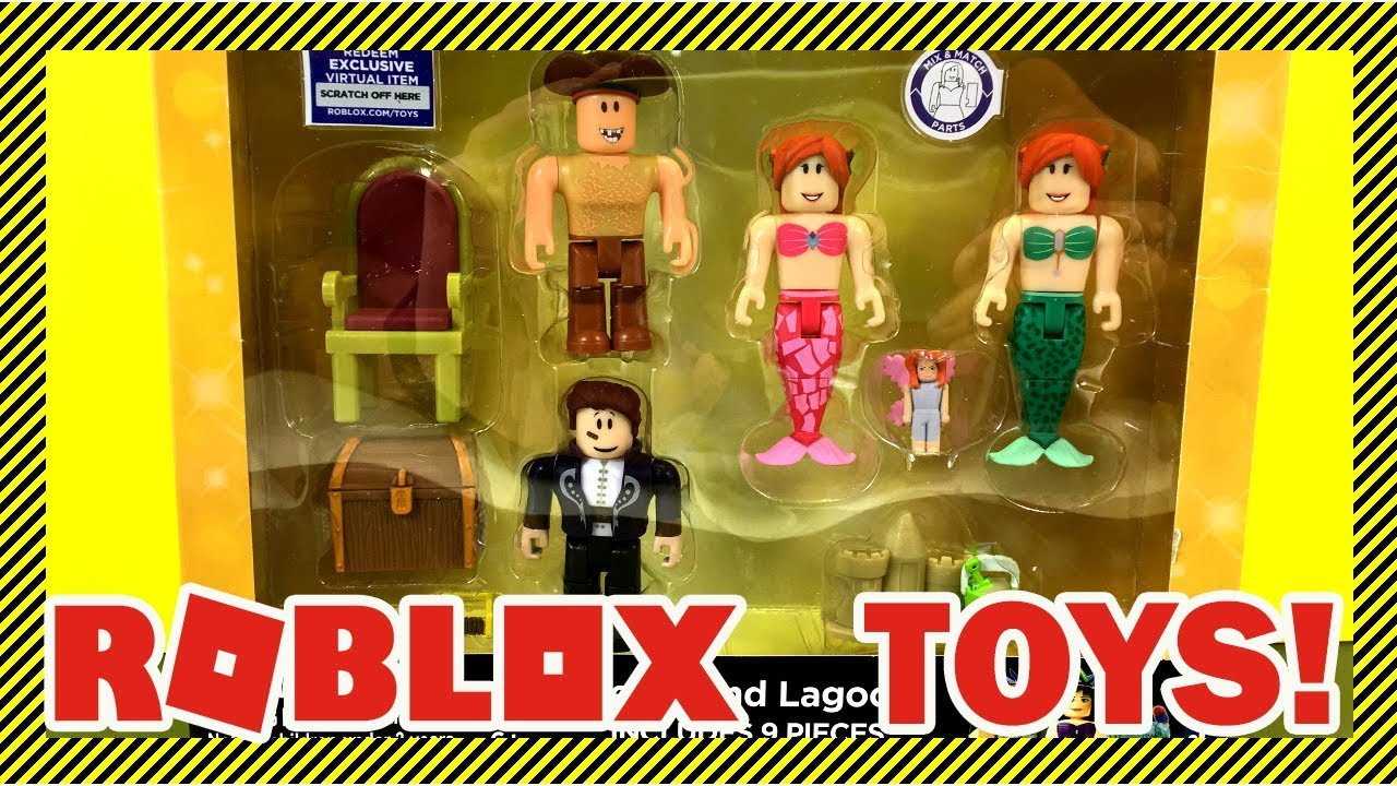 Roblox Toys New Collection Opening Neverland Lagoon Toys From