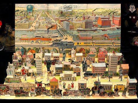 FAIRY CITY: Antique Paper Toy