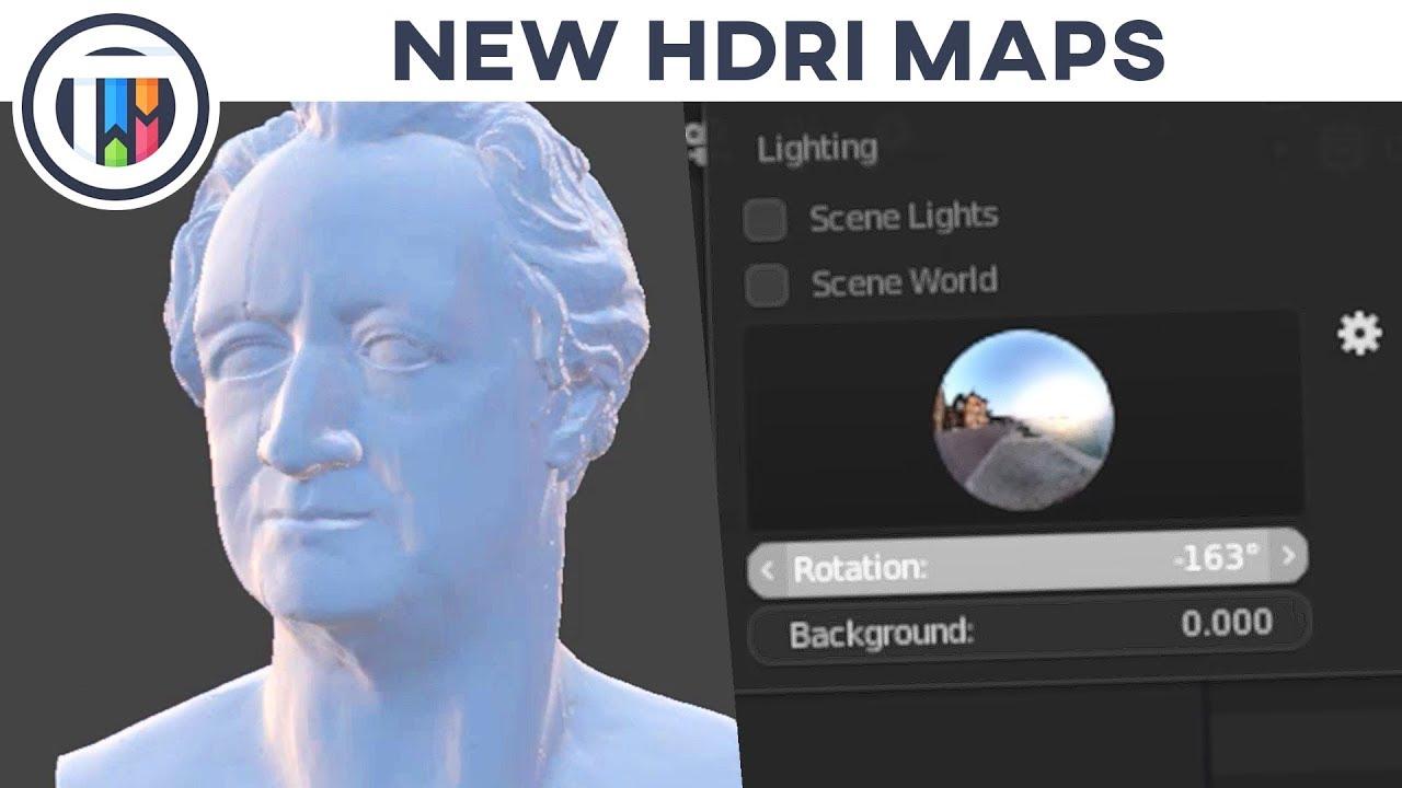 Blender 2 8 Eevee Tutorial - Installing and Using HDRI Maps in 2 8!
