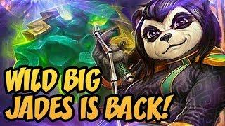 Wild Big Jades Is Back!   Saviors of Uldum   Hearthstone