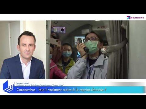 Coronavirus: faut-il vraiment croire à la reprise chinoise ?