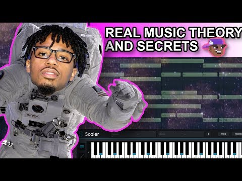 Metro Boomin Space Cadet Melody Music Theory