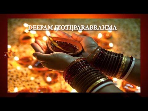 Deepam Jyoti Parabrahma Sanskrit Sloka By Kids | benefits of deepam | Aadya Media