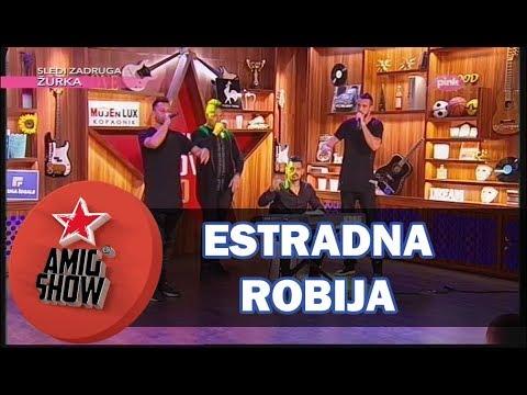 Sloba, Vojke, Đexon i Bora - Estradna Robija (Ami G Show S10)